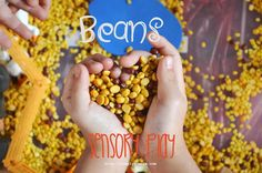 Beans for sensory play #sensory #kidsactivties #preschool