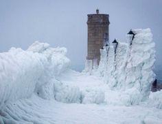 winter scenes | Espero que te guste esta selección de fotos de olas congeladas :