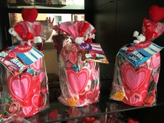 Valentines day kids candy cup.