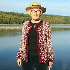 Ravelry: Madeleine Cardigan pattern by JennyPenny Fair Isle Knitting, Cardigan Pattern, Knitting Patterns, Knitting Ideas, Ravelry, Scandinavian, Knitwear, Vest, English