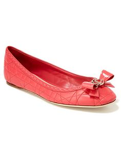 Christian Dior Lovely Cannage Leather Flat