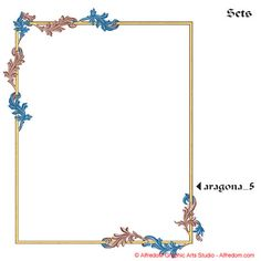 Medieval and Renaissance Illuminated Manuscripts Borders Illustration Clip Art EPS