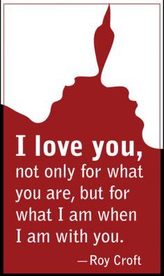 true. To my lover: