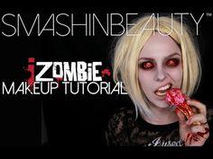 "iZOMBIE Olivia ""Liv"" Moore Halloween Makeup Tutorial 2015 | SmashinBeauty"