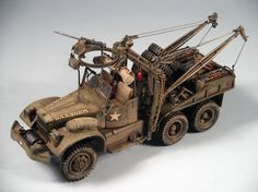 Diamond T Wrecker 1/35 Scale Model