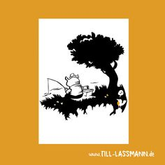 Postcard Bear fishing * Greeting Card * Fairies * Illustration * A5 * Download…