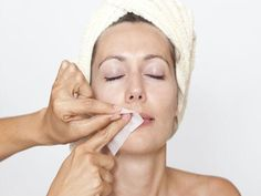 Natural Hair Removal, Natural Hair Styles, Skincare For Combination Skin, Waxing Tips, Facial Waxing, Oil Free Makeup, Hair Removal Methods, Unwanted Hair, Unwanted Facial