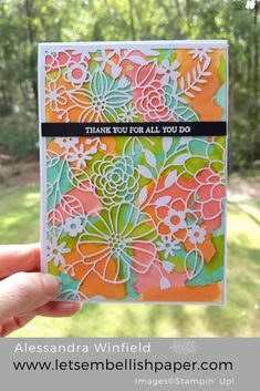 Delightfully Detailed Paper – Stampin' Up!