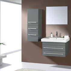 "Found it at AllModern - Ultra Modern Series 29"" Single Bathroom Vanity Set with…"