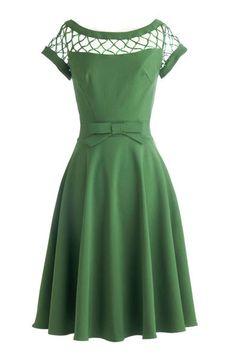 Pin-up Darling - Alika Circle Dress in Green, $149.95 (http://www.pinupdarling.com/alika-circle-dress-in-green/)