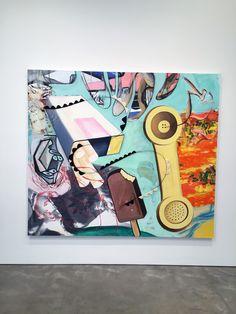 David Salle New Paintings Skarstedt Gallery Pop...