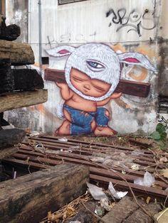 Alex Face, Bangkok, 2014