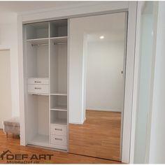 dressing haine dormitor Closet, Home Decor, Homemade Home Decor, Closets, Cabinet, Interior Design, Home Interiors, Decoration Home, Closet Built Ins