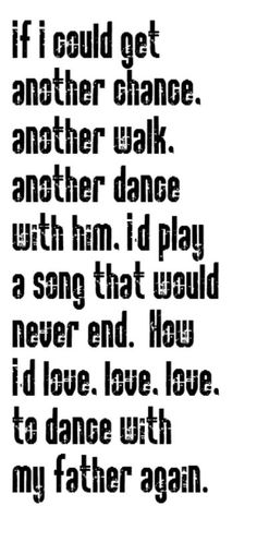 Luther Vandross- Dance With My Father - song lyrics, song quote, music lyrics, music quotes, songs