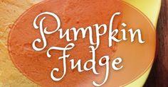 Pumpkin Fudge - Dairy & Egg Free, GAPS-Friendly