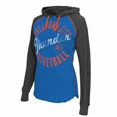Oklahoma City Thunder Women's Play Clock Hoodie | Available on NBAThunderShop.com #ThunderGifts