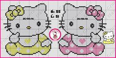Baby Hello Kitty pattern - Ponto Cruz e Mais