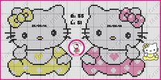 Ponto Cruz e Mais: Hello Kitty Bebês em Ponto Cruz