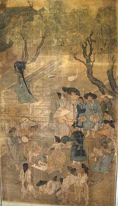 File:Corea, paravento con scene di genere, firmato kim hong-do, epoca choson, 1800-1814 ca. 04.JPG