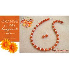 Orange by ligi-tarniceru on Polyvore Happy Colors, Orange, Studio, Polyvore, Handmade, Hand Made, Studios, Handarbeit