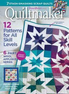 Quiltmaker №173 2017 скачать бесплатно