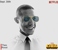 Watch Theo Rossi as 'Shades,' in Luke Cage. 😎NETFLIX