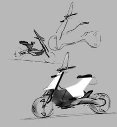 2019 Portfolio on Behance Motorcycle Design, Bike Design, Design Art, Bike Sketch, Car Sketch, Custom Vespa, Longboard Design, Concept Motorcycles, Industrial Design Sketch