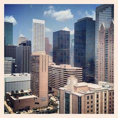 Houston Texas Skyline Downtown Skyscrapers IMG_9985