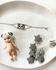 Bracelet Panda - Miyuki - Origami -  Sonny Angel