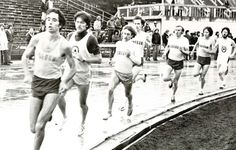 Oregon track & field 1977. From the 1977 Oregana (University of Oregon yearbook). www.CampusAttic.com