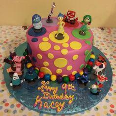 Birthday Cake Child Disney Inside Out cake Alessi bakery Tampa, FL