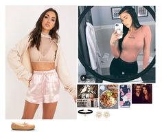 """""""Olivia -I Guess We Really Are Done"""" by banks-on-it ❤ liked on Polyvore featuring UGG, GET LOST, Kate Spade and Betsey Johnson"""