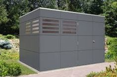 Gartenhaus mit Glasdach – Google-Suche Brisbane, Outdoor Furniture, Outdoor Decor, Outdoor Storage, Garage Doors, Home Decor, Montage, Form, Tricks