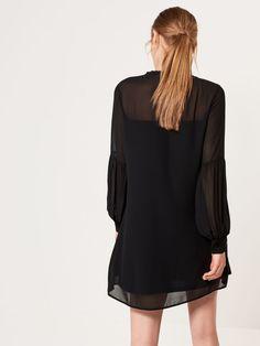Sukienka z bufiastym rękawem AFTER HOURS, MOHITO, RI041-99X