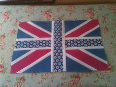 Union Jack Tutorial - In Honor of Queen's Jubilee!