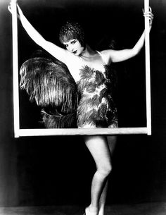 Louise Brooks in a publicity still for The Canary Murder Case, 1929.