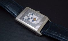 JLC - Jaeger Lecoultre Reverso Sun Moon Platinum. A treasure from the Past.