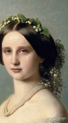 Franz Xavier Winterhalter: Portrait of Princess of Baden