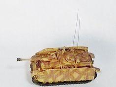 Metal Troops Creation Tank Series German Army 1:144 Ratio Germany Sturmgeschtz STUG IV Sd.Kfz. 163M