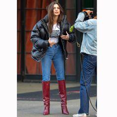 Emily Ratajkowski Boots, Emily Ratajkowski Street Style, Celebrity Style Inspiration, Celeb Style, Fashion Models, Fashion Outfits, Outfit Goals, Mode Style, Aesthetic Clothes