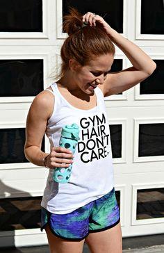 gym hair dont care