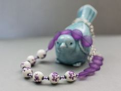 NEW - Pretty in Purple Necklace on Etsy, $28.00
