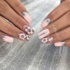 55 Wedding Nail Designs for Your These trendy Nails ideas would gain you amazing compliments. Perfect Nails, Gorgeous Nails, Pretty Nails, Elegant Nails, Stylish Nails, Red Nails, Hair And Nails, Wedding Nails Design, Super Nails