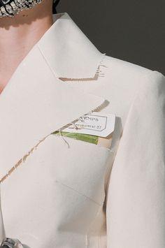 Detail at Maison Martin Margiela Fall 2012 Couture.