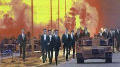 """Invasion"" | Martha Rosler, 2013"