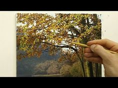 In this oil painting tutorial I'll show you how to paint fast flowing water in a landscape scene. We'll explore what oil painting techniques you can use to c. Oil Painting Trees, Acrylic Painting Lessons, Acrylic Painting Techniques, Painting Videos, Oil Painting Abstract, Painting Canvas, Oil Paintings, Michael James Smith, Autumn Trees