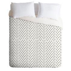 Allyson Johnson Tiny Polka Dots Duvet Cover | DENY Designs Home Accessories $124