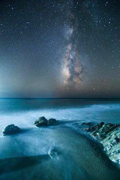 Watching the stars in Gaviota, Santa Barbara County, California