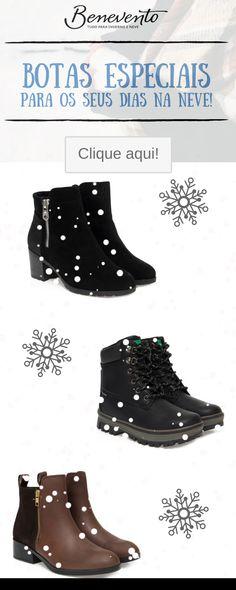 b59cd2d187b Botas impermeáveis que ajudam a proteger os seus pés contra a neve e o frio  !