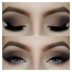 Smokey Eye Tutorial ❤ liked on Polyvore featuring beauty products, makeup, eye makeup, eyes and beauty